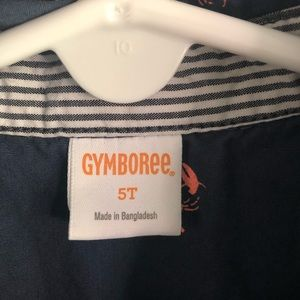 Gymboree Shirts & Tops - Lobster print button down